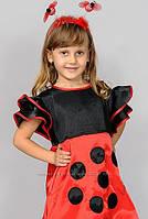 """Карнавальный костюм """"Божья коровка с рожками"""", размер 3-6 лет"""