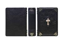 Библия. Священное Писание Ветхого и Нового Завета - элитная кожаная подарочная книга