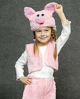 """Карнавальный костюм мех """"Поросёнок (хрюшка)"""", размер от 3 до 7 лет"""