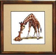 """Набір для вишивання А-064 """"Жирафи"""""""