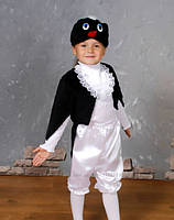 """Карнавальный костюм из атласа """"Пингвин"""", размер от 4-6 лет и 7-10 лет"""