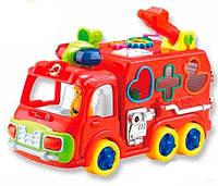 Пожарная Машинка развивающая музыкальная игрушка сортер