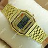 Яркие наручные часы Casio F-91W Water Resist Gold 6031