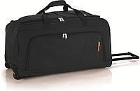 Дорожная сумка на колесах, большая, черная, Gabol.