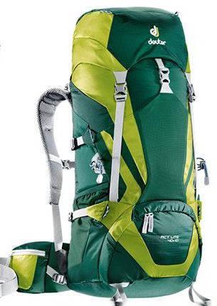 Мужской уникальный туристический рюкзак DEUTER ACT Lite 40 + 10, 3340115 2218 зеленый