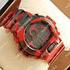 Практичные спортивные наручные часы G-Shock DW-6900 Militari Red 6036
