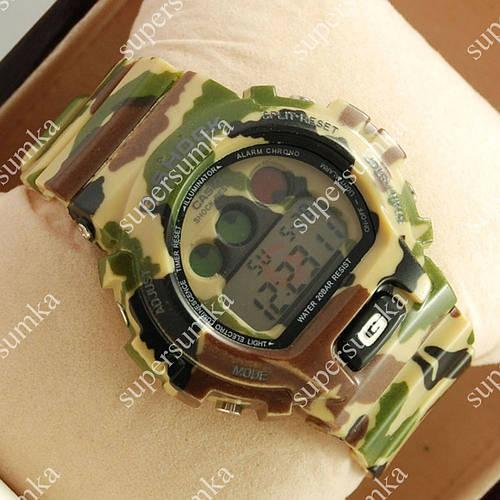 Спортивные наручные часы G-Shock DW-6900 Militari Brown 6038