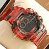 Популярные спортивные наручные часы Casio GA-100A Militari Red 6039