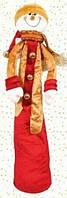 Мягкая новогодняя игрушка Снеговик, 60см