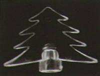 Гирлянда электрическая разноцветная с переключателем, с украшением на лампочках, 50 лампочек, 1,5м