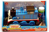Паравозик на бат. Thomas Bubble Train мыльные пузыри