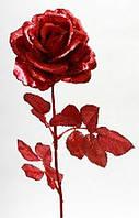 Декоративная ветка Роза, 70см