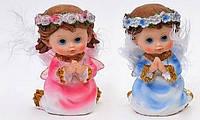 Фигурка Ангелочек голубой и розовый 11см в асс 2