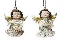 Подвесной елочный декор Ангел в асс 2