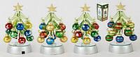 Новогоднее украшение Елочка с LED подсветкой, 15см
