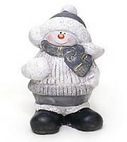 Декоративная статуэтка снеговик