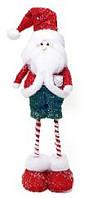 Новогодний декор Санта, 58см