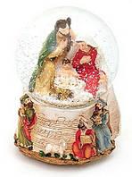 Декоративный водяной шар 11см Рождественский Вертеп