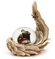 Декоративный водяной шар 5см Рождественский Вертеп