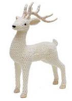 Новогодняя декоративная фигура Олень 46см