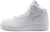 Кроссовки женские Nike Air Force High (найк форс, оригинал) белые