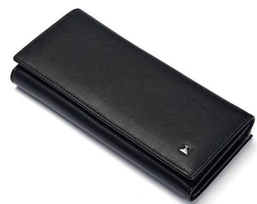 Качественный женский кошелек NAP с натуральной кожи Bretton W1 black (черный)