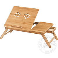 Столик для ноутбука бамбук