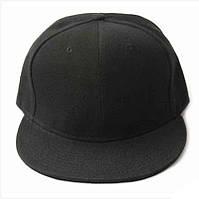 Черная бейсболка свободного кроя. Кепка для хип-хопа. Отличное качество. Приятная цена. Код: КД20