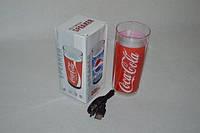 Музыкальная колонка Coca-Cola, стакан с подсветкой (A Quality)