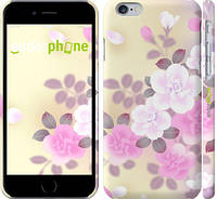 "Чехол на iPhone 6 Японские цветы ""2240c-45"""