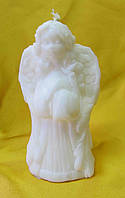 Свеча ангелок белый.Высота: 11см.