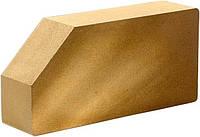 """Кирпич облицовочный """"Литос"""" Стандартный гладкий угловой 250×120×65"""