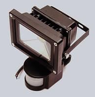 Прожектор светодиодный YMFL-10Вт с датчиком движения 220В