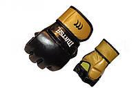 Перчатки для смешанных единоборств MMA Кожа MATSA