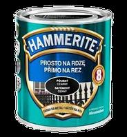 Hammerite с Полуматовым эффектом, Темно-зеленая 0.7 л
