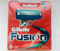 Картриджи оптом Gillette Fusion 6 шт Original