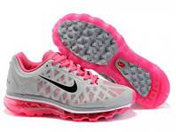 Кроссовки женские Nike Air Max 2011 (найк аир макс, оригинал) серые