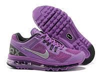 Кроссовки женские Nike Air Max 2013 (найк аир макс, оригинал) фиолетовые