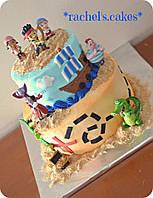 Игровой набор фигурки Джейк и пираты Нетландии Дисней  Disney Disney Store Disney Jr. Jake and the Never Land