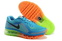 Кроссовки женские Nike Air Max 2014 (найк аир макс, оригинал) голубые