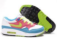 Кроссовки женские Nike Air Max 87 (найк аир макс, оригинал) белые