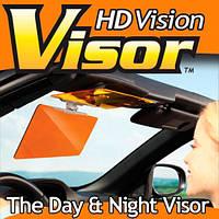 Антибликовый козырек для автомобиля HD Vision Visor, защита от солнца, фонарей, фар
