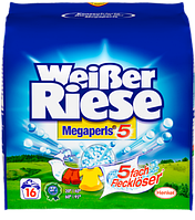 Гранулированый порошок для стирки универсальный Weißer Riese megaperls 1,35kg  20w