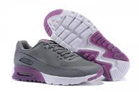 Кроссовки женские Nike Air Max 90 HyperLite  (найк аир макс, оригинал) серые