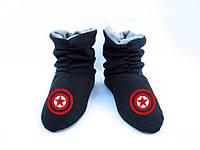 """Тапочки-ботинки детские """"Капитан Америка"""""""