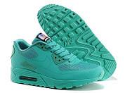Кроссовки женские  Nike Air Max 90 Hyperfuse (найк аир макс, оригинал) бирюзовые