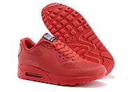 Кроссовки женские  Nike Air Max 90 Hyperfuse (найк аир макс, оригинал) красные
