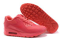 Кроссовки женские  Nike Air Max 90 Hyperfuse (найк аир макс, оригинал) коралловые