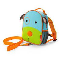 Рюкзак-поводок детский Skip Hop собака.