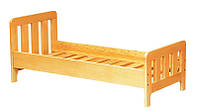 Детская кровать из натурального дерева сосна